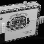 St. Blues-Gitarre Cigarbox