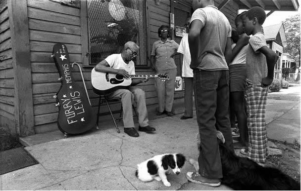 Furry Lewis und der Country Blues