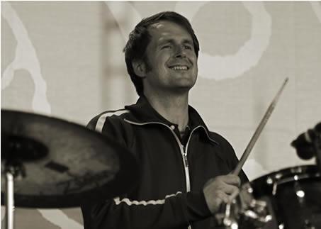 Schlagzeuger Jochen Reich